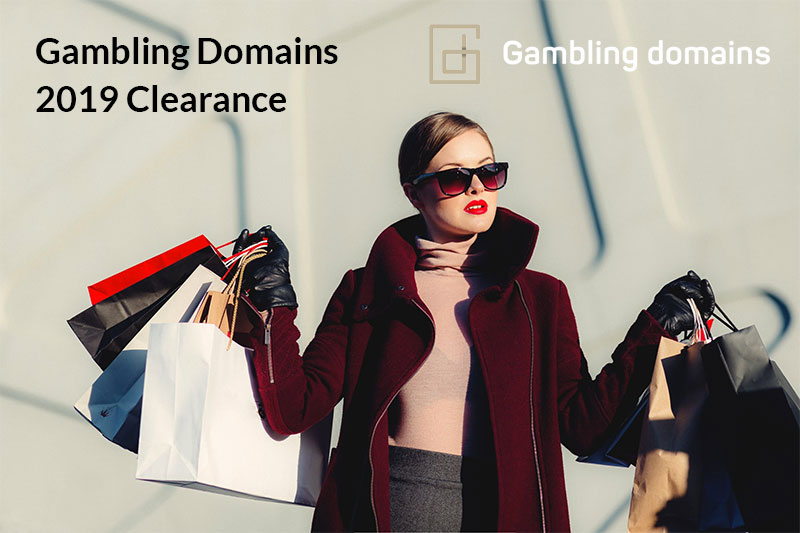 Gambling Domains 2019 Clearance